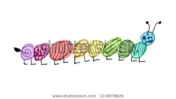 caterpillar-hand-drawing-sketch-childrens-600w-1219079629